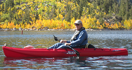 Dave Kayaking 1